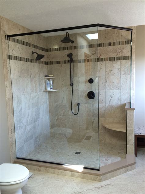Garden Tub And Shower Unit by I My Walk In Shower We Removed A Big Garden Tub From