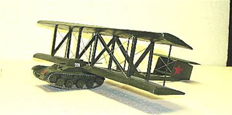 russian kt flying tank large scale planes