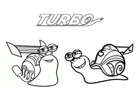 turbo dessin animé turbo escargot 100 coloriage turbo l escargot coloriages pour enfants page 2