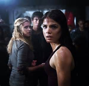 Clarke Bellamy and Octavia