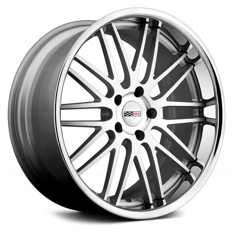 wheels hawk cray 174 hawk wheels silver with machined and chrome