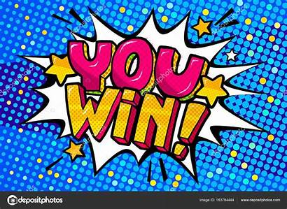 Win Pop Illustration Message Depositphotos
