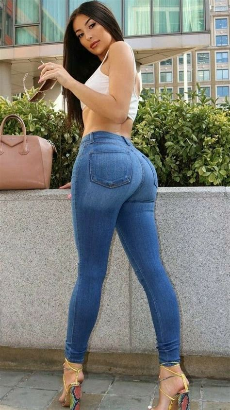 Pin On Girls In Tight Jeans