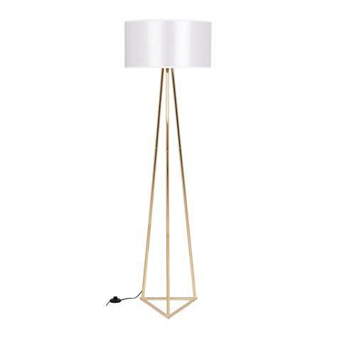 Gold & Weiß Orion Metall Bodenlampe   Moderne Beleuchtung