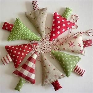 Moldes para hacer arbolitos navideños de fieltro o tela