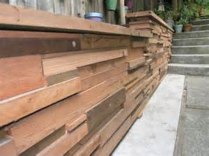 Cedar Planks For Closet by Wood Retaining Wall Design Example The Interior Design