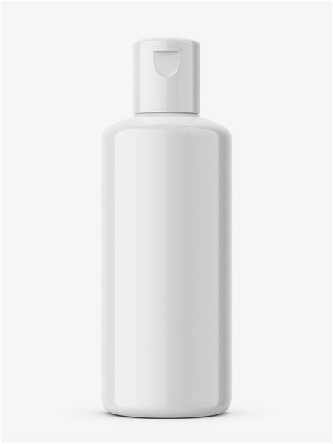 Includes special layers and smart objects for your amazing artwork. Glossy plastic bottle mockup - Smarty Mockups