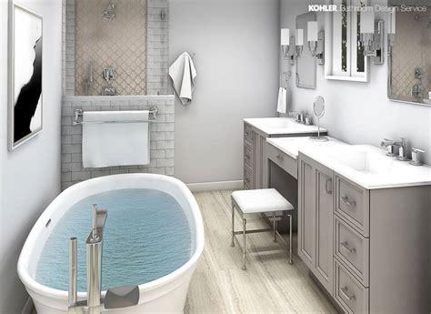 Kohler Bathrooms Designs by Kohler Bathroom Design Service Personalized Bathroom Designs