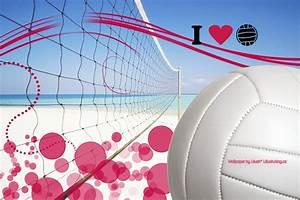 Wallpaper I Love Volleyball by lillushka on DeviantArt