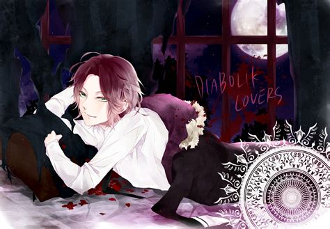 diabolik lovers hd wallpapers backgrounds wallpaper
