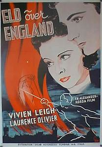 """FIRE OVER ENGLAND"" MOVIE POSTER - ""FIRE OVER ENGLAND ..."