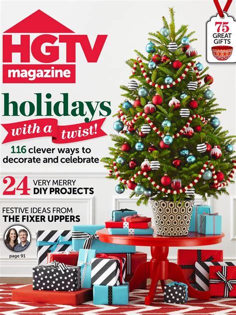 dec for christmashgtv hgtv magazine december 2014 hgtv