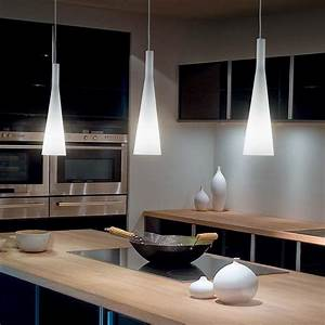 Lampe Suspendue Cuisine : luminaire cuisine design suspension en verre souffl tany ~ Edinachiropracticcenter.com Idées de Décoration