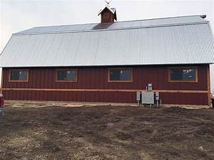 creative building supply blog With barn sheet metal siding