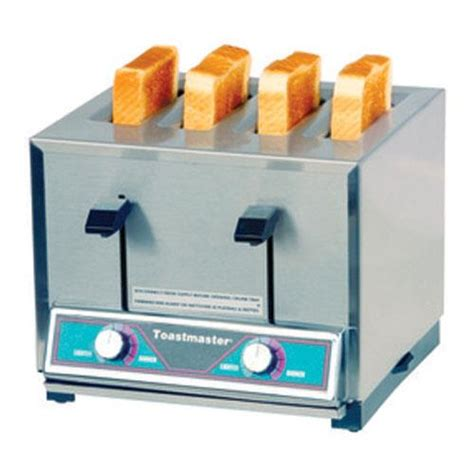 toaster pops toastmaster tp424 208 240 4 slot commercial pop up