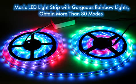 LED Strip Lights More Than 80 Kinds of Modes Music