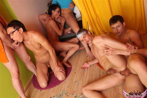 Gay Group Cum