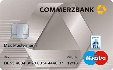 Commerzbank Ec Karte Limit