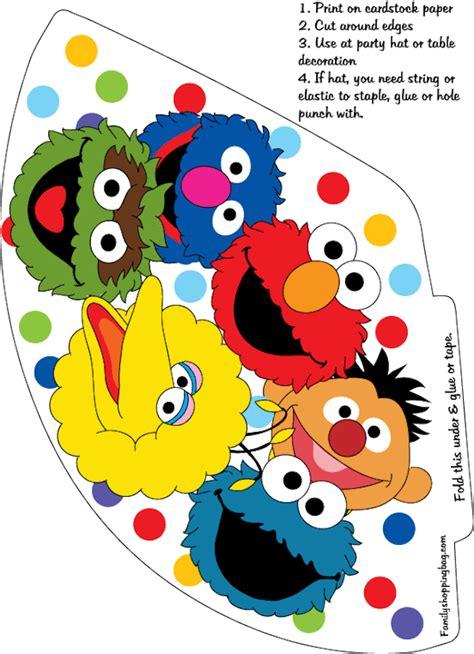 Printable Elmo Cake Template by Sesame Printables