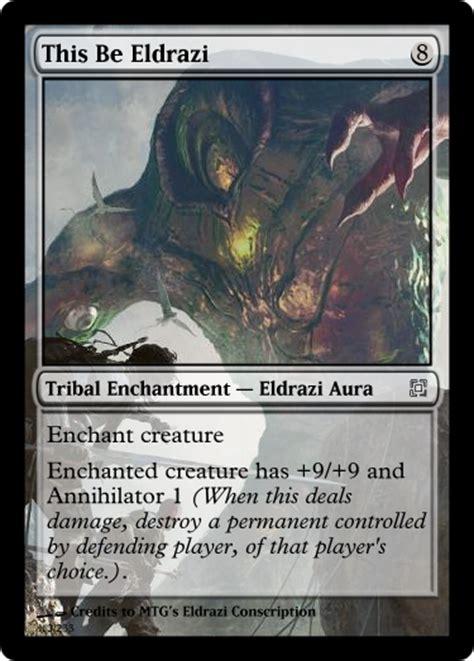 mtg defender deck eldrazi alternate rise eldrazi spells magic the gathering fan