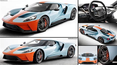 ford gt heritage edition  pictures information