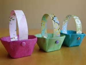 Mini Egg Carton Easter Baskets