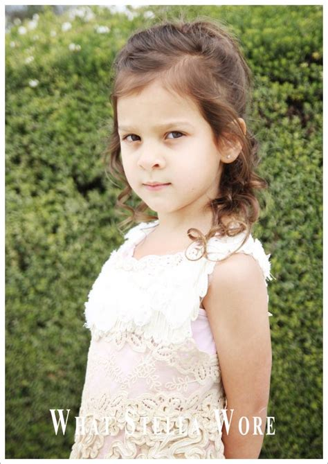 What Happens Next What Stella Wore ~ Vintage Lace Easter Dress