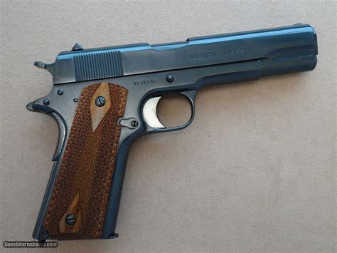 Ww1 Colt 1911 .45 Acp Pistol Mfg. In 1918 ** Refinished