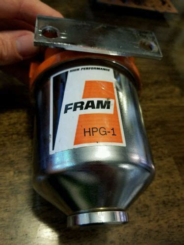 Fram Performance Fuel Filter by Purchase Fram Hpg1 Hi Performance Gas Fuel Filter Kit