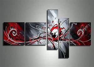 17 best ideas about black white red on pinterest red With best brand of paint for kitchen cabinets with abstract metal wall art panels