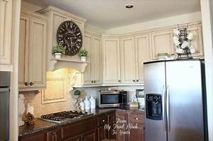 13 ways to instantly brighten up a boring kitchen hometalk With kitchen colors with white cabinets with ups stickers