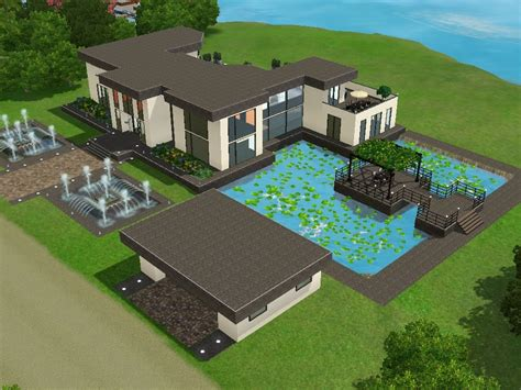 Modernes Haus Let S Build by Sims 3 Haus Bauen Let S Build Gro 223 Es Modernes Haus