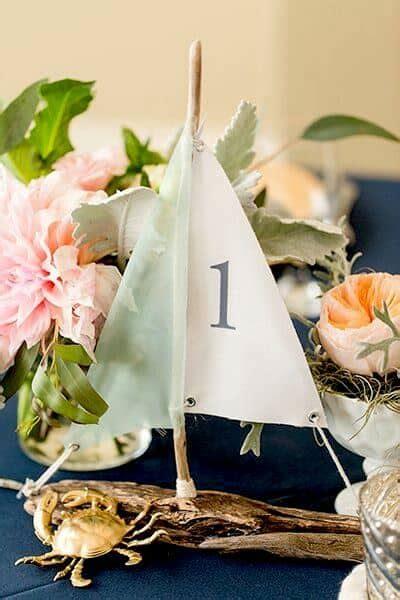 wedding table number ideas alternatives   love