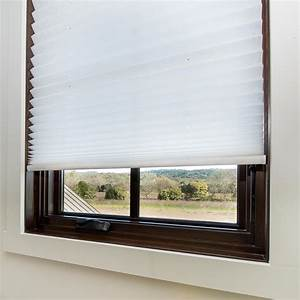 redi shade easy lift trim at home white cordless spun lace With cordless cloth blinds