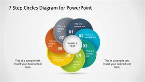 7 Steps Circles Powerpoint Diagram