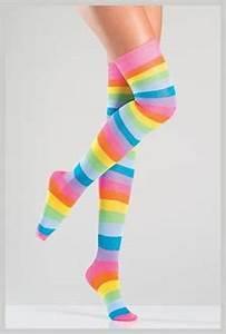 Neon Thigh High Stockings SpicyLegs