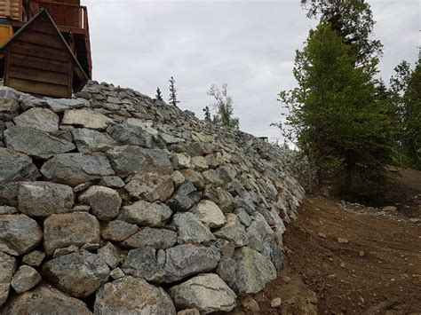 stopping erosion on a slope how to stop hillside erosion on your property rock landscaping llc