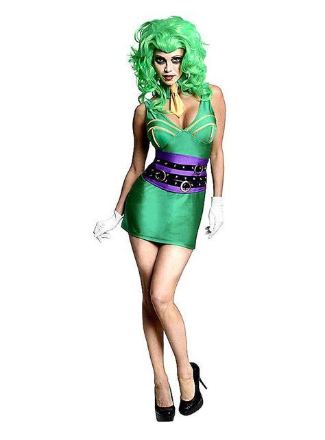 joker kostüm damen original lizenz batman joker damen kost 252 m karneval fasching ebay