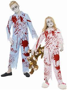 Pyjama Party Outfit : child zombie pyjama girl boy walking dead fancy dress kids halloween outfit ebay ~ Eleganceandgraceweddings.com Haus und Dekorationen