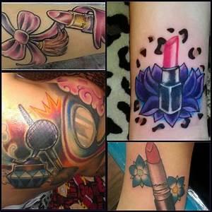 Tattoo ideas... Makeup tattoo.   ink   Pinterest