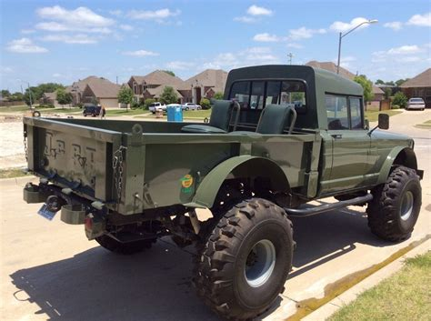 lifted jeep hummer  military rock crawler truck kaiser  sale  desoto texas