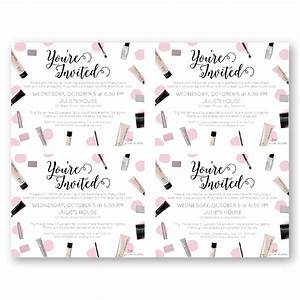 Mary kay party invitations mary kay party invitations and for Mary kay invite templates