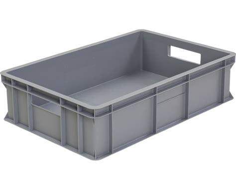 stapelbox 45 l 600x200x400 mm grau bei hornbach kaufen