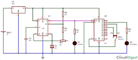 Circuit Diagram And Explanation by Logic Diagram 7493 Wiring Library