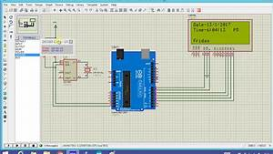 Ds1307 Real Time Clock Simulation With Arduino