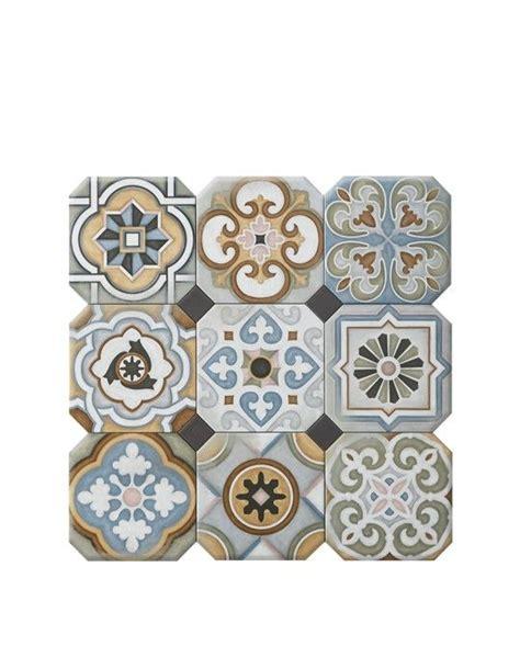 carrelage vintage cuisine carrelage all aspect carreaux de ciment multicolore