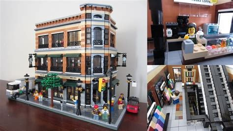 This is my 7th modular building containing a cheese shop and bistro where you can get a delicious cheese selection. LEGO IDEAS - Product Ideas - Barnes & Noble and Starbucks Store