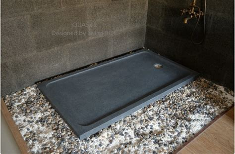shower pan 60 quot x34 quot granite shower base gray stone for bathroom quasar