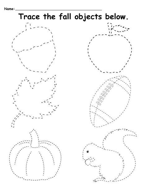 preschool tracing worksheets  images preschool