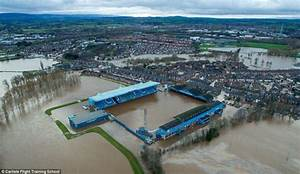Storm Desmond photographs show widespread flooding across ...